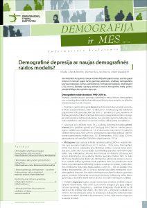 Demografija ir mes. 2011 m. Nr. 1