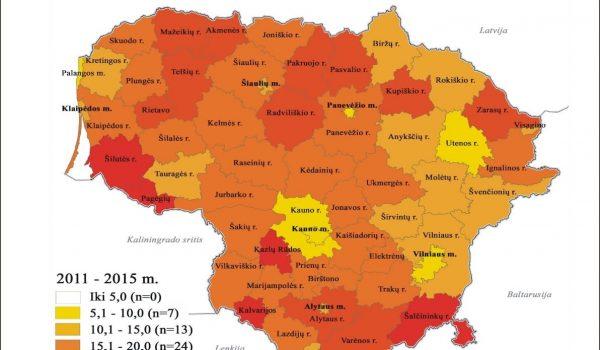 Gimdymo paauglystėje regioninė diferenciacija Lietuvoje: socioekonominė aplinka, lytinio švietimo vaidmuo ir individualios patirtys