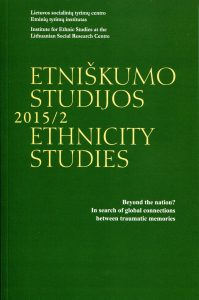 Etniškumo studijos 2015/2