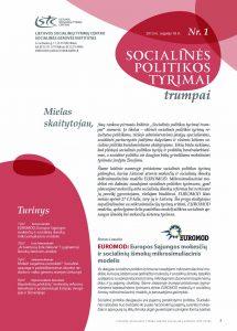 Socialinės politikos tyrimai trumpai