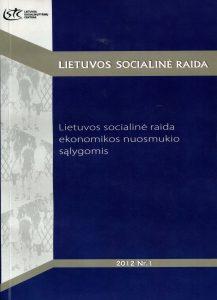 Lietuvos socialinė raida ekonomikos nuosmukio sąlygomis