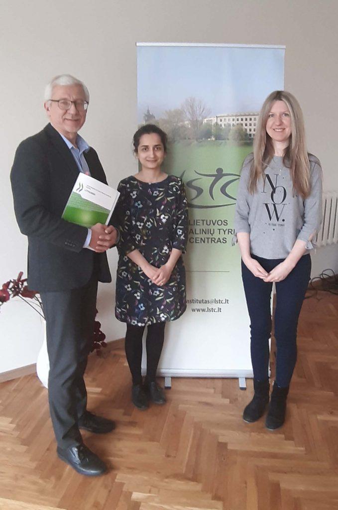 Susitikimas su JAV ambasados Lietuvoje asocijuotąja specialiste ekonomikos klausimais Ani Muradyan