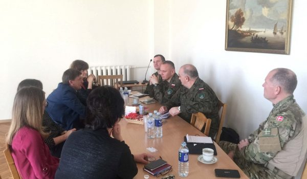 Visit of the Headquarters Multinational Corps Northeast representatives