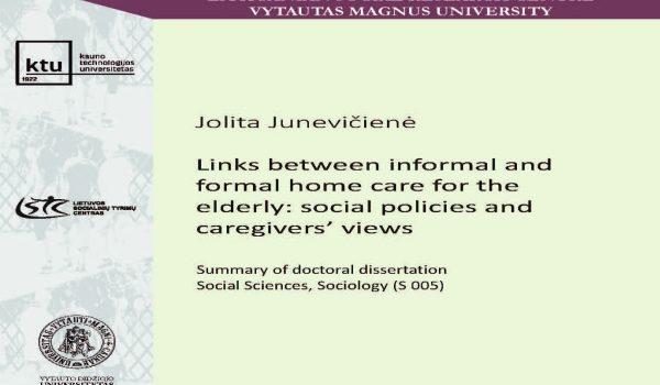 Jolita Junevičienė doctoral dissertation defence